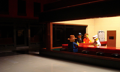 Nighthawks in LEGO