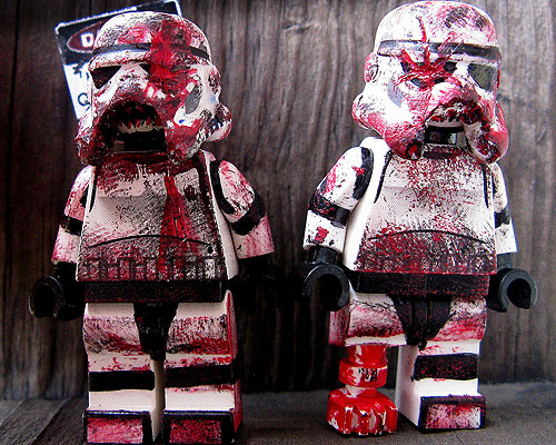 Zombie stormtroopers. They probably can't shoot either.