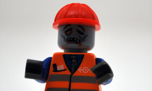 A zombie from the department of public works