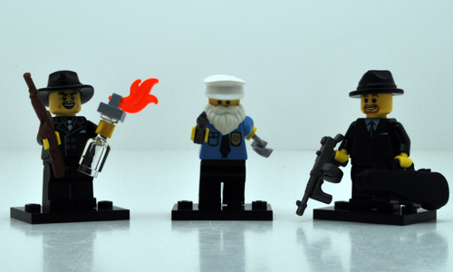 BrickWarriors Gangster Accessories Review