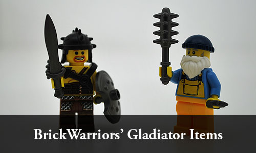 Check out the selection of Gladiator items from Brickwarriors