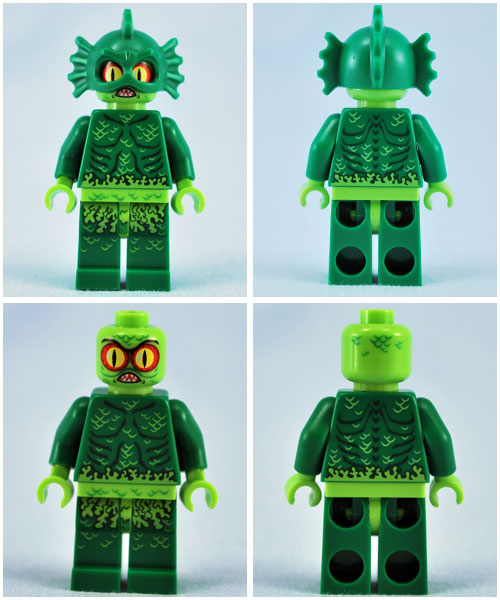 Lego Review Swamp Creature Bricks Of The Dead