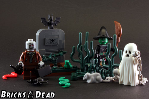 Halloween set built