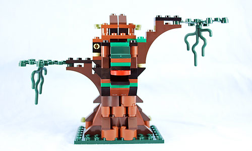 The back of the Werewolf's tree