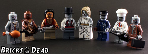 The LEGO Zombie Group Photo