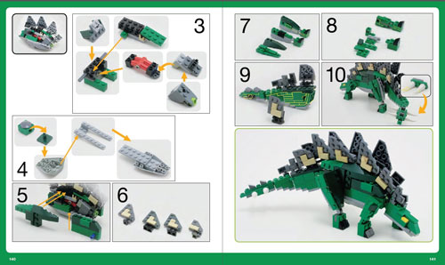 LEGO Adventure Book building instructions example