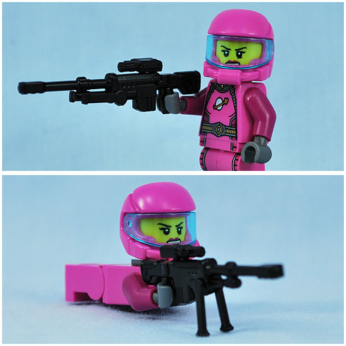 BrickArms' XSR posed