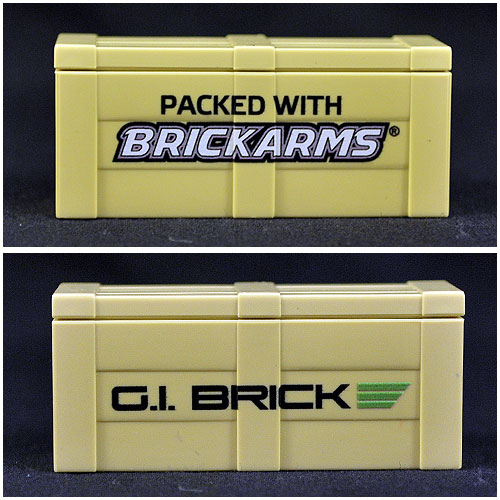 The GI Brick and BrickArms Branded Crate