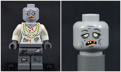 Citizen Brick's Female Zombie