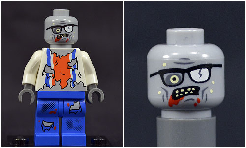 Citizen Brick's Male Zombie