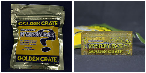 BrickArms' Golden Crate