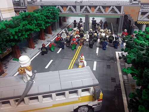 Lego Zombie Creation Factory Bricks Of The Dead