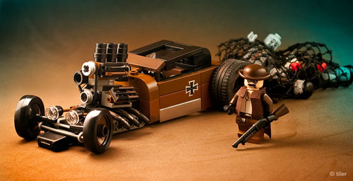 LEGO Zombie Creation Roadkill Bricks Of The Dead - Cool zombie cars