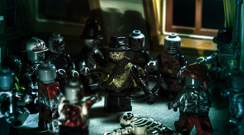 A Terrible Bad Idea - A LEGO Zombie Creation