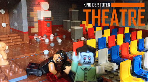 Lego Zombie Creation Kino Der Toten Bricks Of The Dead