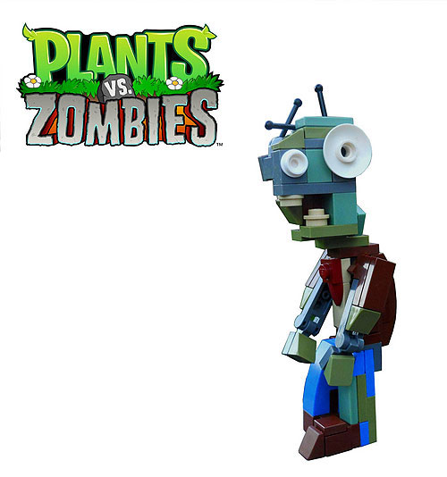 Plants vs. Zombies - a LEGO Zombie Creation