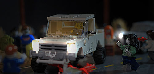 Outbreak - Roadblock: A LEGO Zombie Creation