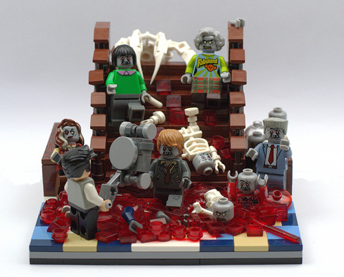 Party's Over - A LEGO Zombie Creation