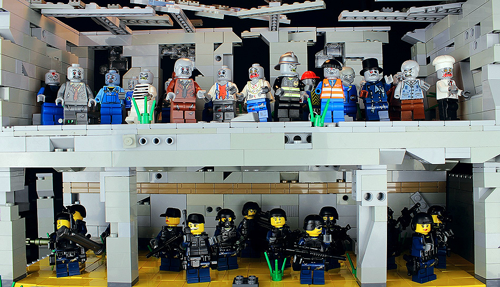 There Has Got to Be Zombies Here Somewhere - a LEGO Zombie Creation