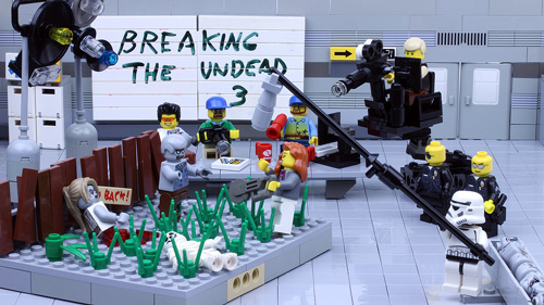 Breaking the Undead - a LEGO Zombie Creation
