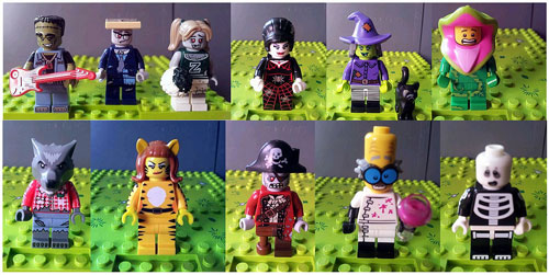 LEGO Collectible Minifigs Series 14 is all about monsters and zombies