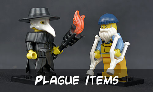 Brick Warriors Plague Items