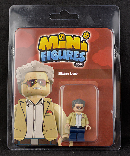 Minifigures.com Stan Lee in Box Front
