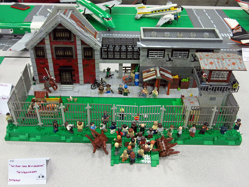 This Place Could be a Goldmine - a LEGO Zombie Creation