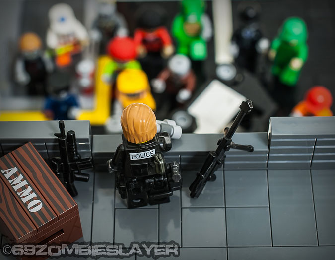 Lone Sniper - A LEGO Zombie Creation