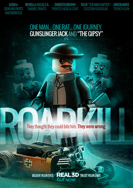 Roadkill - a LEGO Zombie Creation